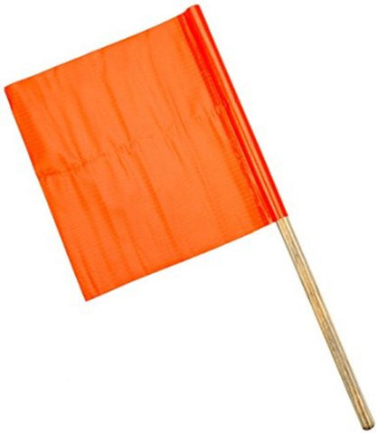 Orange Safety Flag (18x18x24) - Confluent Technology Group