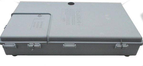 "CABLETEK 17""x10""x3"" OUTDOOR  ENCLOSURE PLASTIC GRAY CASE UTILITY CABLE BOX 48MDE - Confluent Technology Group"