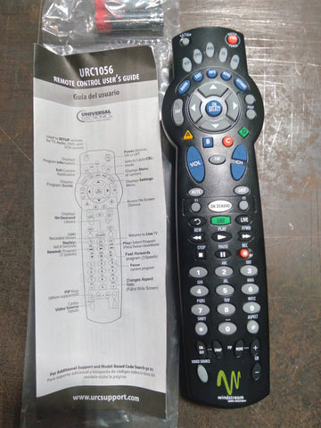 UNIVERSAL 5-DEVICE REMOTE CONTROL DIGITAL HD DVR URC1056  New. - Confluent Technology Group