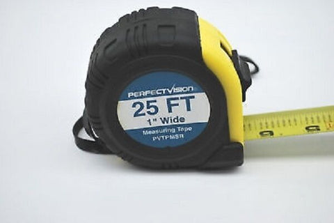 New 25' PVTPMSR Tape Measure With Magnetic Tip Perfect Vision Fast Shipping!!!