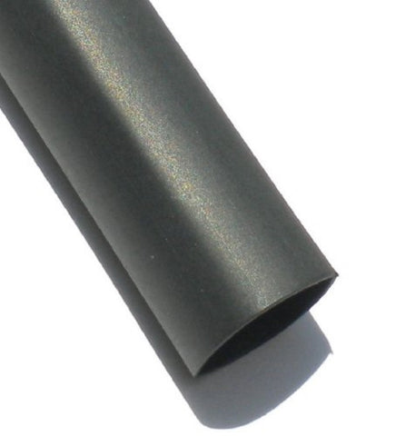 Multi Purpose 3:1 Ratio Heat Shrink 1.30 inch Black 6 inch Tubes CATV-1300