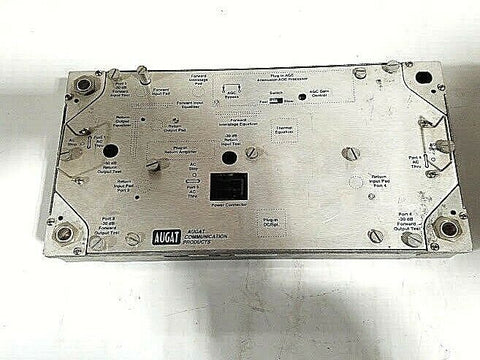 Augat 750 MHz Line Extending Amplifier, Used; Part #SDAB7/40PA2S25 - Confluent Technology Group