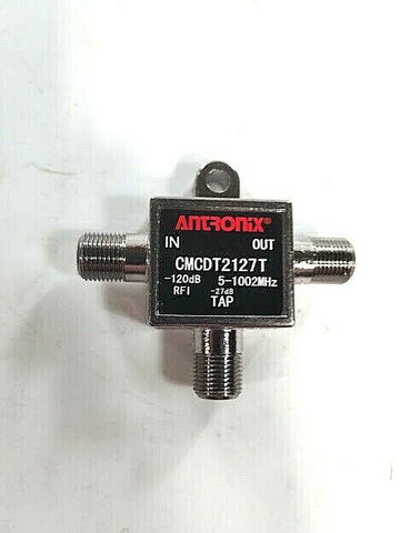Antronix CMCDT2100 Series Directional Tap, T-Type, 27dB; Part #CMCDT2127T - Confluent Technology Group