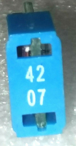 42MHz 7 dB Blue Reverse Equalizer; Part #MANTRE-42-07