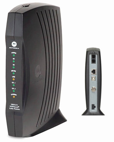 Motorola SBV5121 DOCSIS 2.0 Modem With Power Adapter