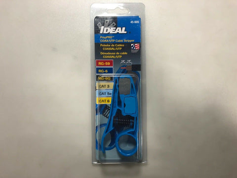IDEAL INDUSTRIES 45-605 Prep pro Coaxial UTP Cable Stripper