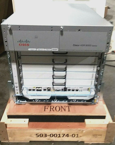 Cisco ASR9006  Part #ASR-9006-Dc - Confluent Technology Group