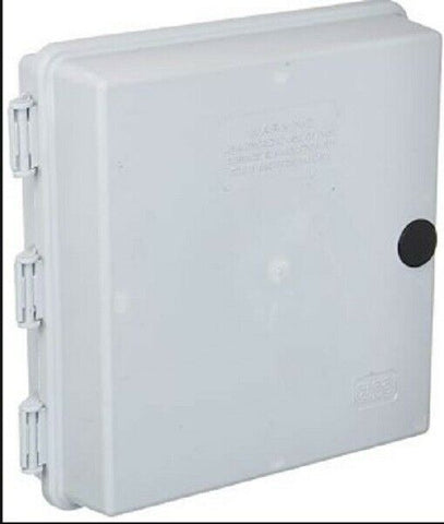 "9""x9""x3"" Outdoor Cabletek Enclosure Plastic Grey Utility Case Model 48CTE"