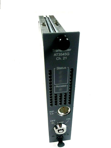Arris AT3545G Transmitter, 1Ghz, 30 analog, Channel 21, Part #AT3545G-21-1-AS
