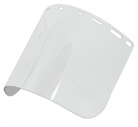 "Erb Safety Clear PetG Face Shield; Size 8"" x 15.5"" .040 thick - Confluent Technology Group"