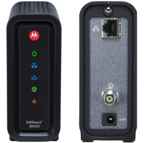 MOTOROLA SB6182 (Docsis 3.0) Modem - Confluent Technology Group