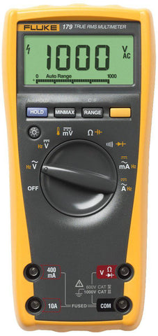 Fluke 179 ESFP True RMS Multimeter with Backlight and Temp - Confluent Technology Group