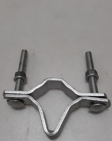 "ALLIED BOLT 5063 Bracket, Service Mast, 1-1/4"" to 3"", Galvanized"