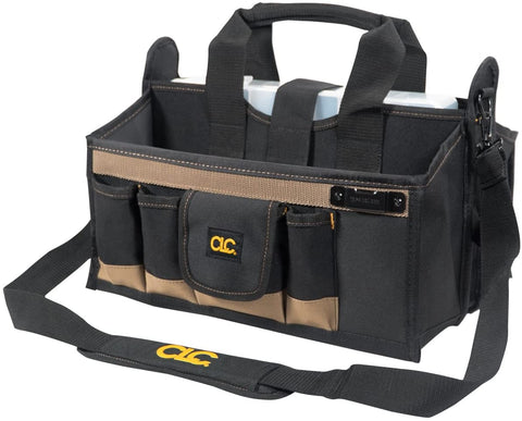 CLC Custom LeatherCraft 1529 16 In. Center Tray Tool Bag, 16 Pocket - Confluent Technology Group