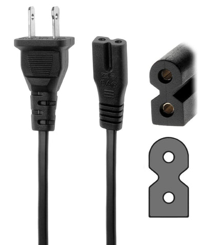 New AC Power Cord Cable Plug 6ft For Comcast Cable box Directv Dish DVR - Confluent Technology Group