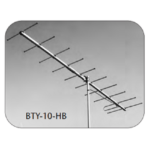 BTY-10-HB CH 8 Professional 10 element VHF highband single channel antenna - Confluent Technology Group