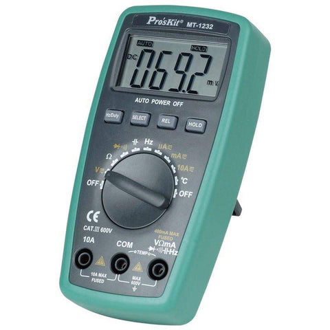 Pro's Kit MT-1232 Volt/Ohm/Current Multimeter Fast Shipping!!! - Confluent Technology Group