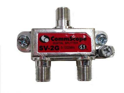 Commscope/Signal Vision 2 Way Splitter SV-2G - Confluent Technology Group