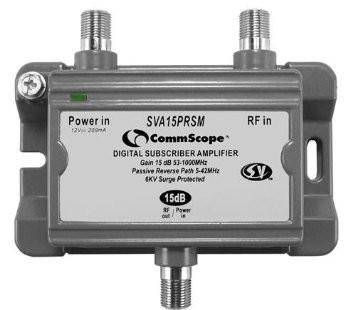 Commscope/Signal Vision SVA15PRSM Digital Amplifier SIGNAL BOOSTER (one port) - Confluent Technology Group