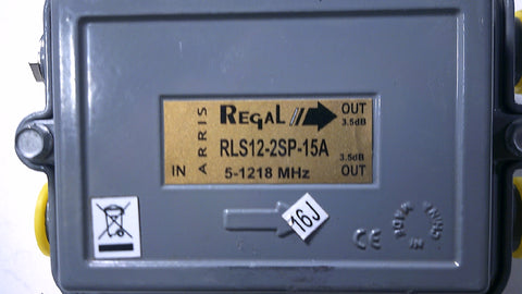 Regal RLS12-2SP-15A LINE SPLITTER - Confluent Technology Group