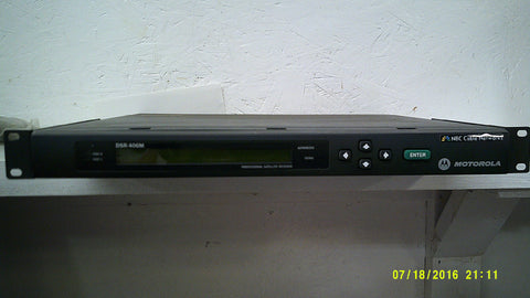 Motorola DSR-406M RECEIVER, DIGITAL - Confluent Technology Group