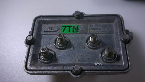 General Instrument FFT4-7TN 4 port tap - Confluent Technology Group