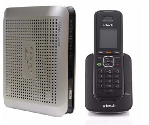 Arris Touchstone Telephony Mdm w/ DECT 6.0 Enhanced Cordless Tech; Part #DTM602G - Confluent Technology Group