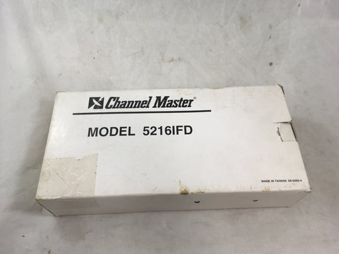 CHANNEL MASTER DUAL LNB AMP 5216IFD New Old Stock
