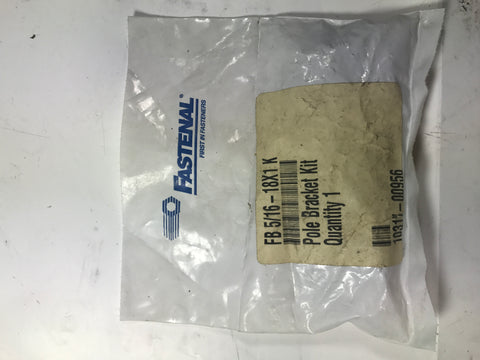 Fastenal FB 5/16-18X1K Pole Bracket Kit - Confluent Technology Group