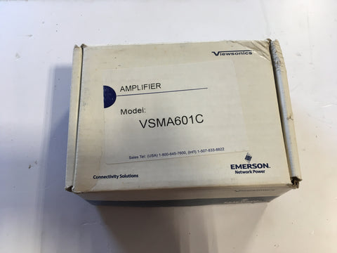 Viewsonics VSMA-601C 1-Port 15dB Cable TV HDTV Amplifier