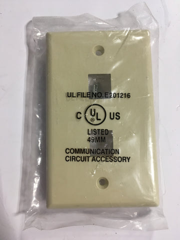 Keystone Dual Telephone Wall Plate (IV/DUAL) - Confluent Technology Group