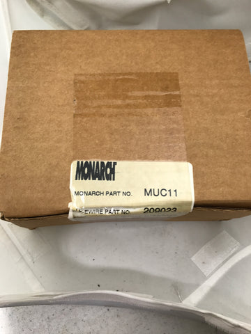 Monarch Dual RG-11 Aluminum  Cable clips.  Box of 500 - Confluent Technology Group