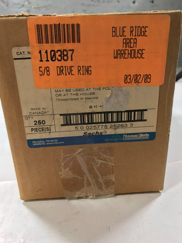Sachs SC17-1 5/8 Drive Ring box of 250 - Confluent Technology Group