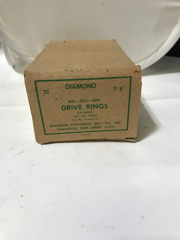 "NEW 25x Thomas & Betts Diamond 7/8"" Drive Ring // 30-00805 401024609 CA6835 - Confluent Technology Group"
