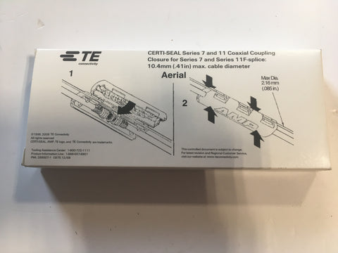 Tyco Electronics Connectivity Certi-Seal Series 7&11 Coaxial Coupling 569661-1