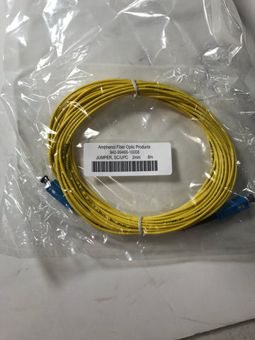Corning fiber optic cable 1ft 2.0 scupc/scupc 8m - Confluent Technology Group