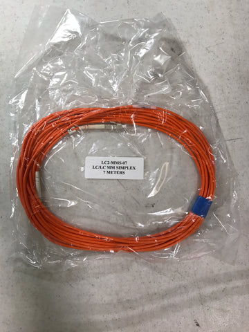 Corning fiber optic cable lc2-mms-07 7m - Confluent Technology Group