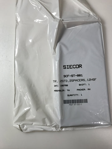 SIECOR SCF-ST-001(SPLICETRAY) FIBER OPTIC SPLICE TRAYS - Confluent Technology Group