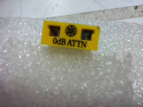 Broadband International® Attenuator Pad 1 GHz   0 DB   PN: 21P000 - Confluent Technology Group