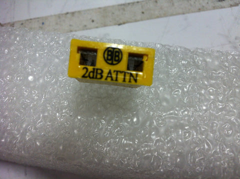 Broadband International® Attenuator Pad 1 GHz   2 DB   PN: 21P802