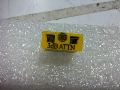 Broadband International® Attenuator Pad 1 GHz  3 DB   PN: 21P803
