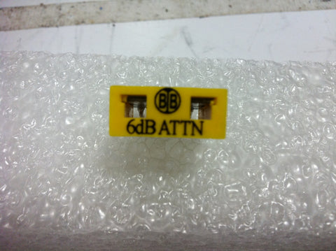 Broadband International® Attenuator Pad 1 GHz   6 DB   PN: 21P806
