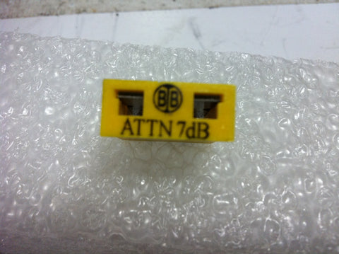Broadband International® Attenuator Pad 1 GHz  7 DB   PN: 21P807