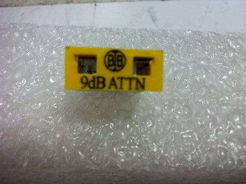 Broadband International® Attenuator Pad 1 GHz  9 DB   PN: 21P809 - Confluent Technology Group