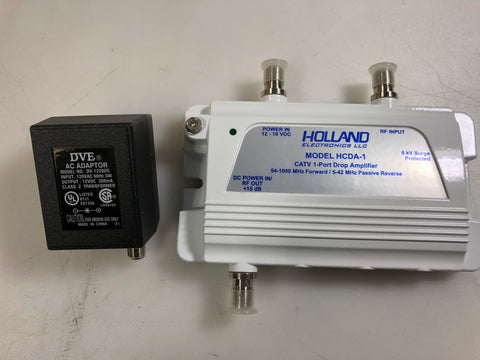 Holland HCDA-1 Bi-Directional Cable Drop Amplifier NEW IN BOX!!! - Confluent Technology Group