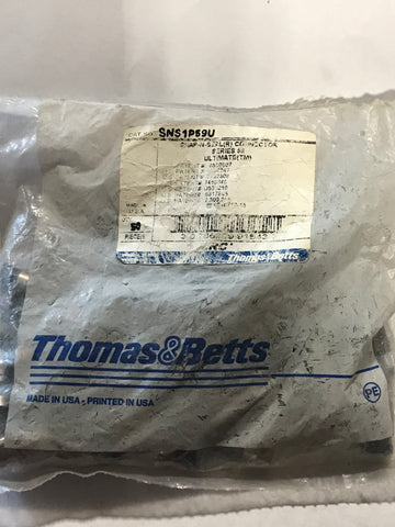 Thomas and Betts SNS1P59U Qty: 50