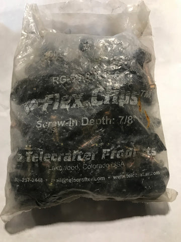 Flec Clips S7BK(100BAG)