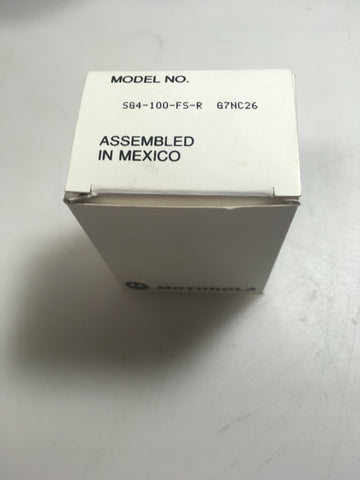 Motorola SG4-100-FS-R Plug - Confluent Technology Group