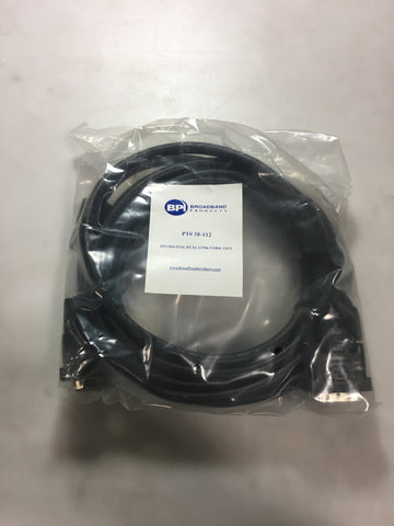 Broadband Products 38-112 DVI Digital Dualink Cord 12t