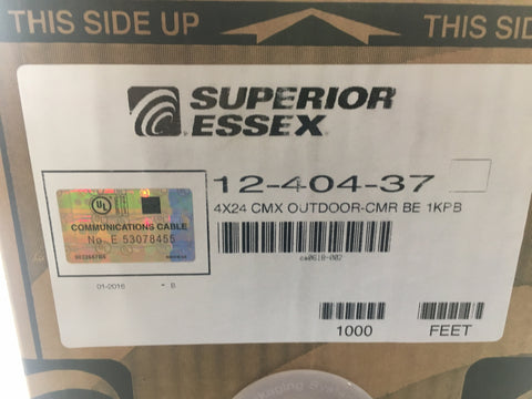 Superior Essex 12-404-37 1000ft Outdoor Cable